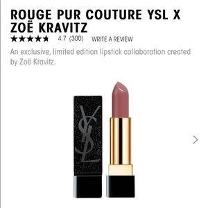 YSL*Zoe Kravitz limited edition lipstick